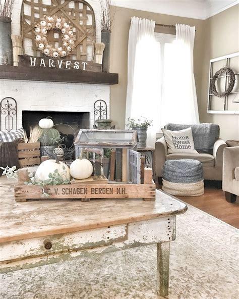 rustic farmhouse living room design  decor ideas