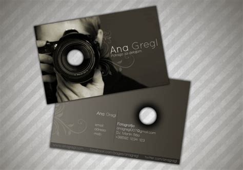 cool photography business cards 33 cool photographer business cards psd and exles ginva