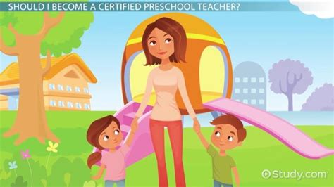 certified preschool teacher