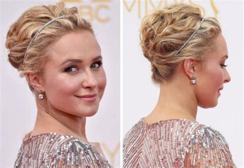kurze haare  haarband eindrehen moderne frisuren