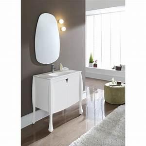 Meuble Salle De Bain A Poser : meuble salle de bain vasque meubles style retro planete bain ~ Teatrodelosmanantiales.com Idées de Décoration
