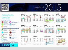 BUAP calendario escolar 2015