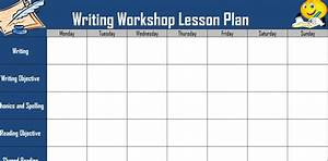 optimus 5 search image writer39s workshop lesson plan With writing workshop lesson plan template