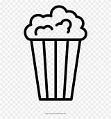 Popcorn Coloring Clipart Corn Pop Colorare Da Pinclipart Clipartkey sketch template