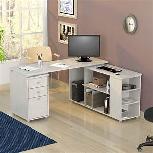 L, Shaped, Computer, Work, Station, Desk