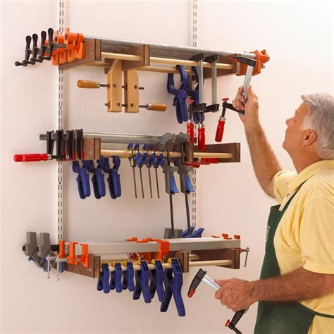 universal clamp rack woodworking plan  wood magazine