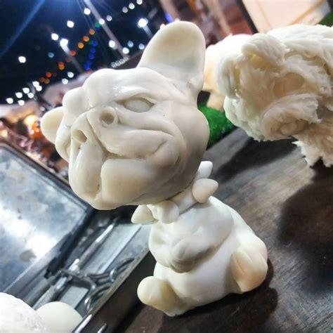 #frenchbulldog #art #clay #handmade #model #dog # ...