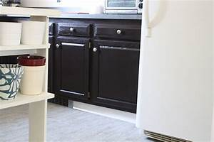 how to refinish oak cabinets with stain the big reveal With kitchen colors with white cabinets with how do i get an uber sticker