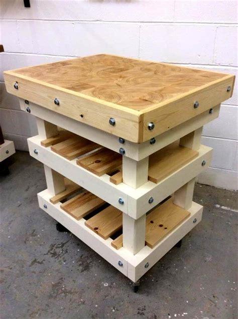 diy upcycled pallet kitchen island  pallets