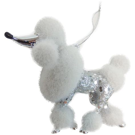 poodle christmas ornaments my blog