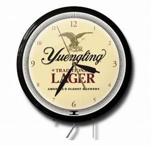 Yuengling In Store ly Neon Clock