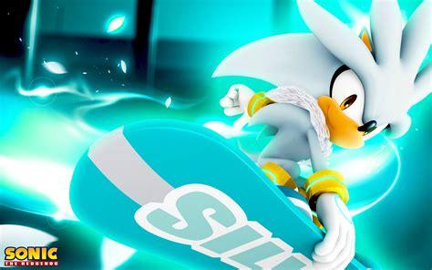 Silver Sonic Hedgehog