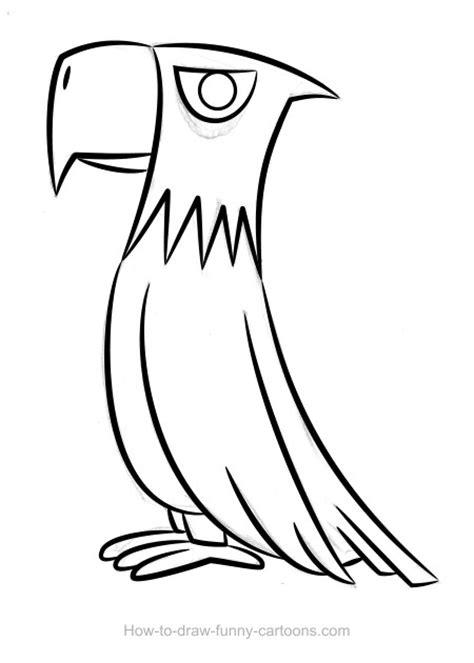 eagle drawing sketching vector