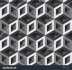 3d Cubes Pattern Stock Vector Illustration 295599470 ...