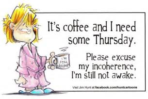 It?s Coffeeoh, I mean, Thursday!   Fe's Big Thoughts