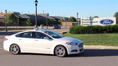 Ford's Driverless Car Plan