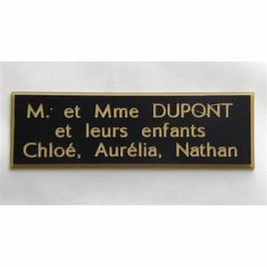 Etiquette Pour Boite Aux Lettres : plaque etiquette boite aux lettres ~ Dailycaller-alerts.com Idées de Décoration