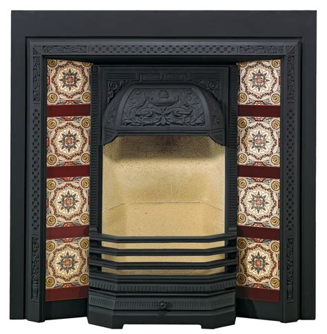 Victorian Fireplace Grate by Victorian Tiled Fireplace Fronts Stovax Traditional