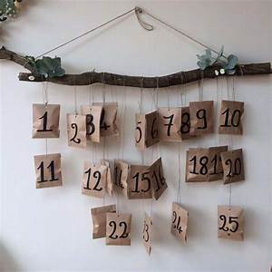 Fabriquer Un Calendrier De L Avent : diy no l fabriquer un calendrier de l 39 avent marie claire ~ Nature-et-papiers.com Idées de Décoration