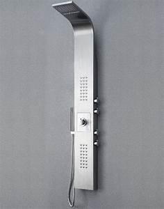 Duschpaneel Mit Thermostat : edelstahl duschpaneel thermostat mit massagejets ~ Michelbontemps.com Haus und Dekorationen