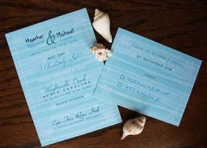Starfish and waves of blue emdotzee designs for Wedding invitations newport beach