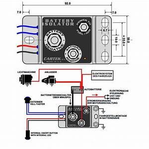 Cartek Elektronischer Batterietrennschalter F U00fcr