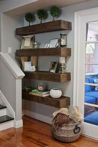 70, Exciting, Floating, Shelves, For, Living, Room, Decorating
