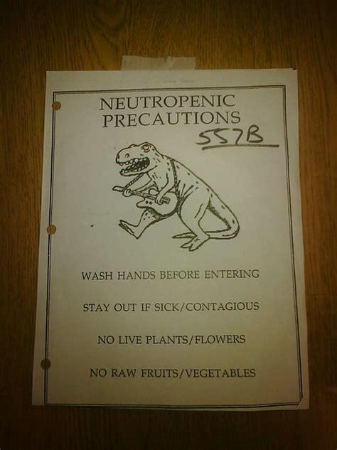 This Makes Neutropenia Look Like Fun Alas It Is Not