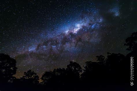 Wallpaper Night Sky Milky Way Nebula Atmosphere
