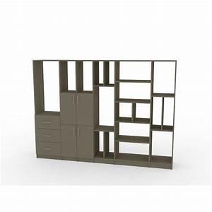 Etagere Sur Mesure En Ligne : biblioth que sur mesure bois color ~ Edinachiropracticcenter.com Idées de Décoration
