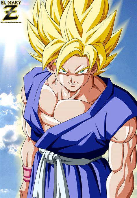 DBGT: Goku Super Saiyan by el maky z on DeviantArt