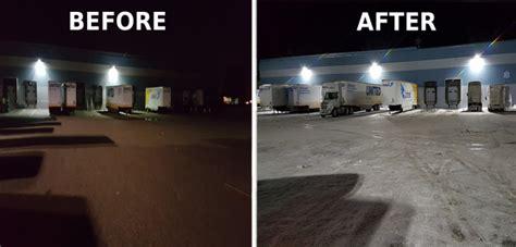 premier lighting case study outdoor metal halide retrofit