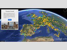 10 Jahre Google Earth Neues VoyagerFeature zeigt die