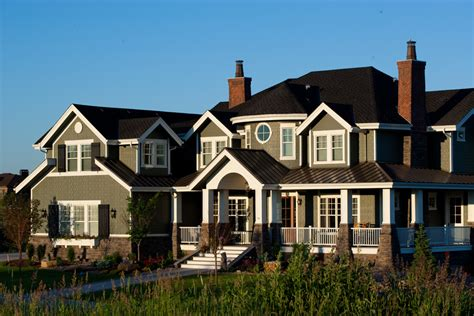 house plan   luxury home  craftsman shingle style tpc
