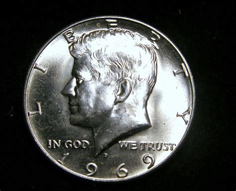 kennedy half dollar zeke1629 1969 d kennedy half dollar choice bu