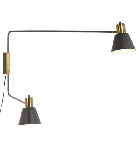 ls in swing arm wall sconce light wall