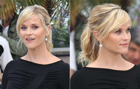 Reese Witherspoon mit Pferdeschwanz   Pferdeschwanz