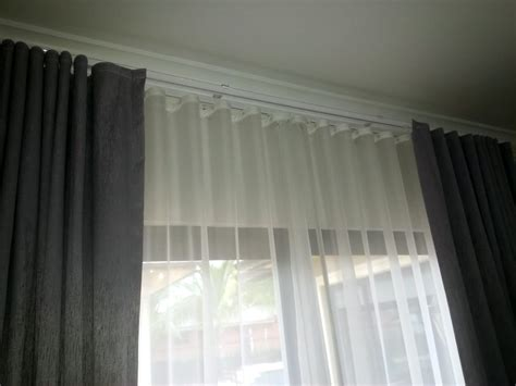ripple fold curtains track sheer blackout yelp