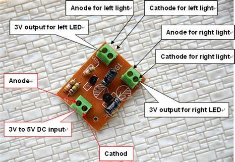 Pcs Compact Circuit Board Make The Crossing Signals