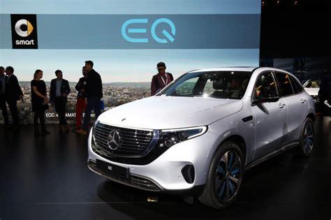 2020 Mercedesbenz Eqc 400 Makes Public Debut At Paris