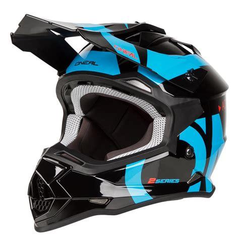 o neal helm o neal helm 2series rl slick schwarz blau maciag offroad