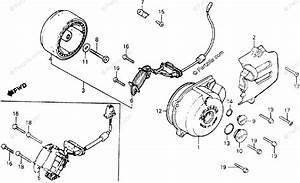 Honda Motorcycle 1980 Oem Parts Diagram For Left Crankcase