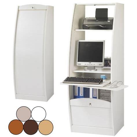 meuble rideau bureau bureau secrtaire rideau droulant largeur cm