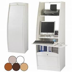 Meuble Secrtaire Informatique Table De Lit