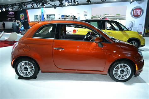 Fiat Ny by 2015 Fiat 500 Side At The 2014 New York Auto Show