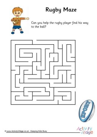 activities and sports puzzles for