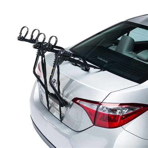 bicycle car racks sentinel 2 bike trunk car rack saris