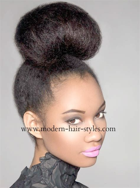 hair in a bun styles hairstyles for black self styling options 4329