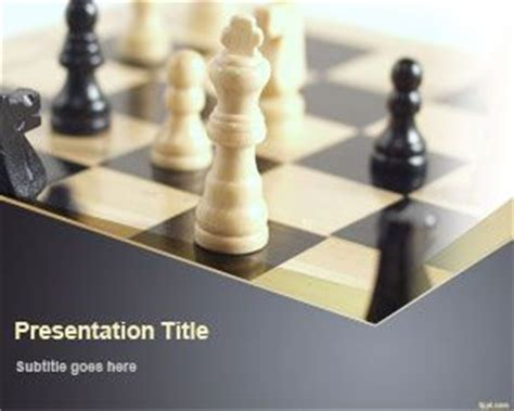chess game powerpoint template