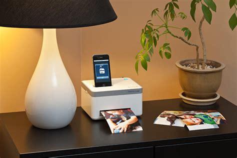 iphone photo cube printer photo cube iphone photo printer gadgetsin